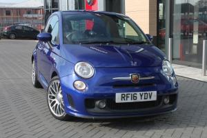 abarth 500 Thames Motor Group manual blue petrol