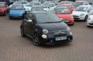 abarth 500 Thames Motor Group manual black petrol