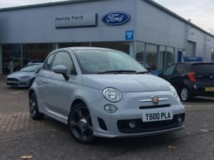 abarth 500 Hendy manual grey petrol